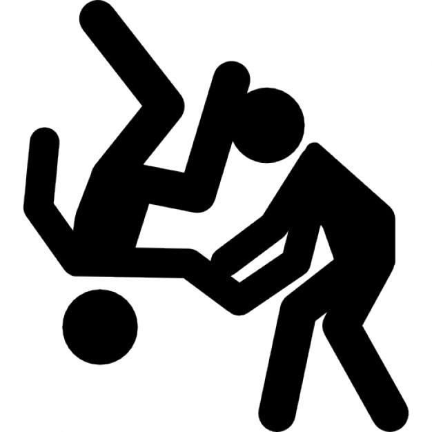 Judo-olimpico-silhueta-do-casal_318-53755