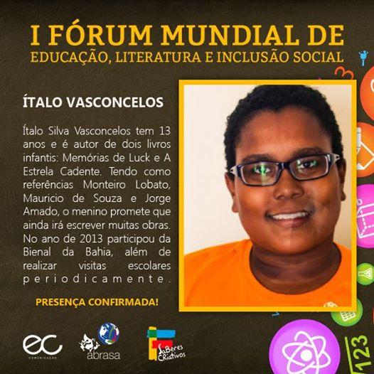 F_rum_mundia_de_educa__o_-_italo_silva